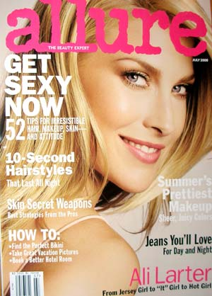 Allure Magazine July 2008